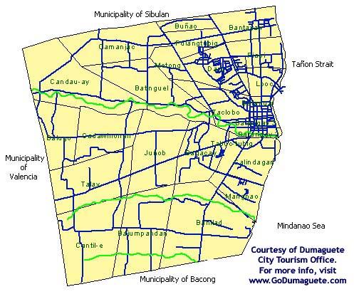 Dumaguete City Map Go Dumaguete! Maps
